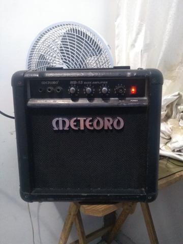 Amplificador meteoro bass mb15 - aceitamos cartão