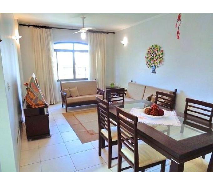 Apartamento 2 dormitórios + dependência, 106 m ², vaga