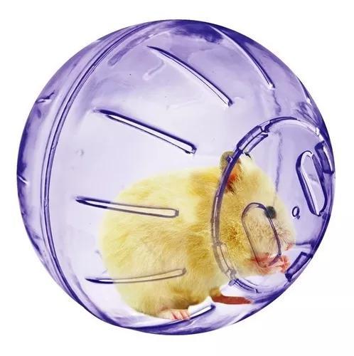 Brinquedo bola / globo de exercícios 4 in 1 p/ hamster ball