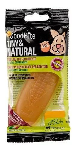 Brinquedo ferplast goodbite tiny & natural roedores milho