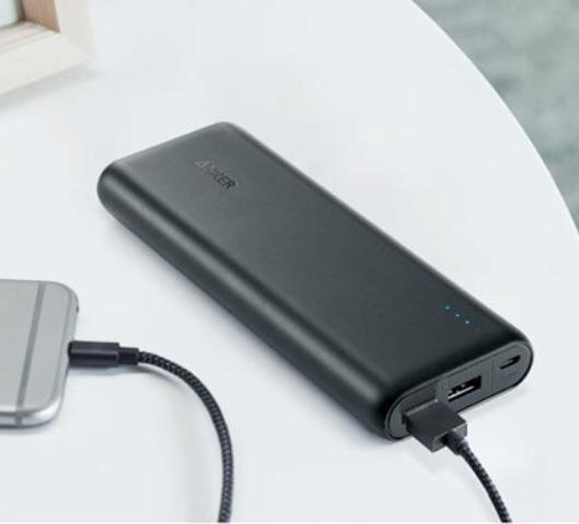 Carregador portátil anker para celular