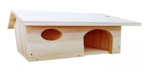 Casa casinha toca porquinho da índia hamster grande
