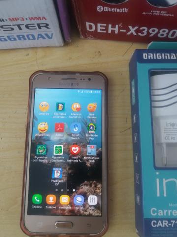 Celular samsung j5 16gb aceito cartão