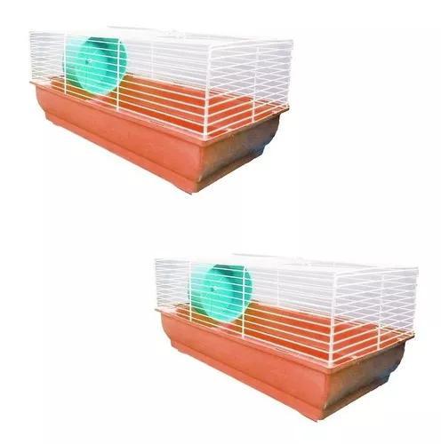 Gaiola criadeira para hamster ratos ratazanas bandeja grande