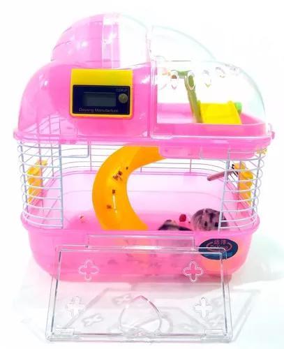 Gaiola hamster acrílico habitat espacial apolo completa - m