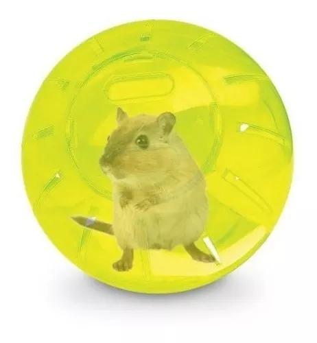Globo exercício hamster roedores pequeno 12cm