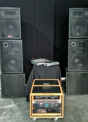 Grande oportunidade, sistemas de som completo pronto para