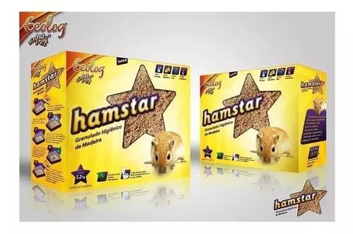 Granulado higienico p/ hamster, esquilo, porquinho, coelho..