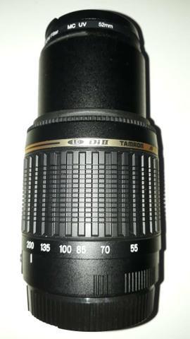Lente tamron 55-200mm para canon