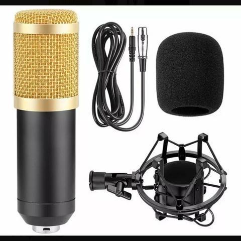 Microfone condensador bm-800 novo
