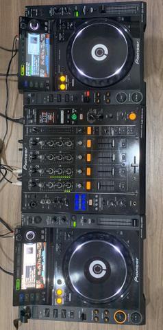 Mixer djm 900 nexus + cdj 2000 pioneer