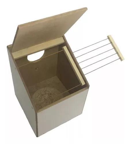 Ninho canário diamante de gould manon com grade