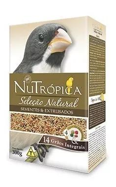 Nutrópica coleiro seleção natural - 300 gramas