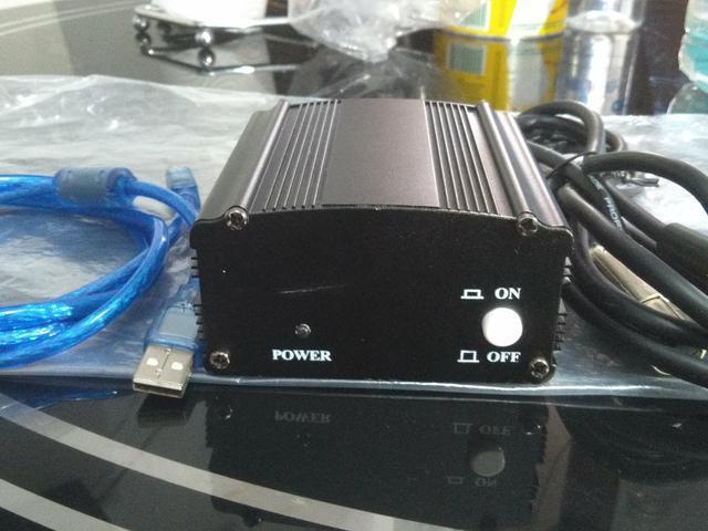 Phantom power 48v usb para microfones condensadores
