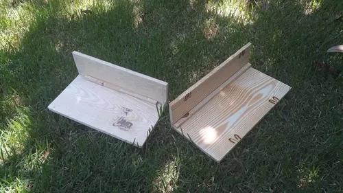 Plataforma de madeira para chinchilas, twister e porquinhos