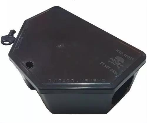Porta isca p/ratos c/ iscas parafinado 1 unidade