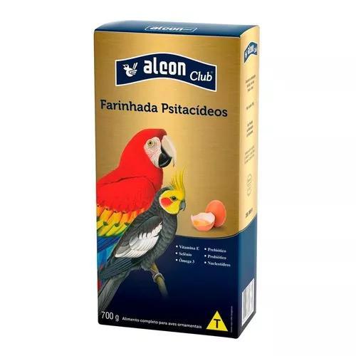 Ração alcon pássaros psitacídeos farinhada com ovos -