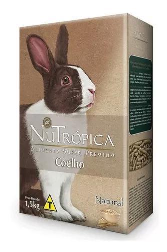 Ração nutrópica coelho natural - 1,5 kg