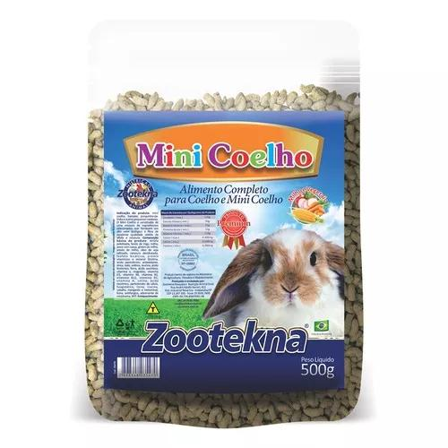 Ração pet valle para mini coelhos - 500 g