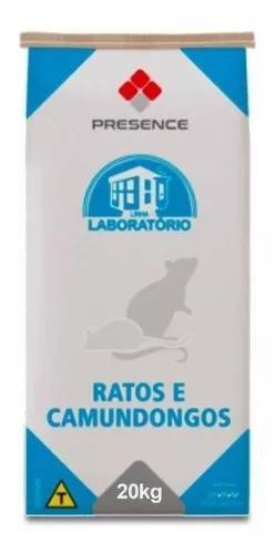 Ração ratos camundongos 20kg labina presence fab. 15/08/19