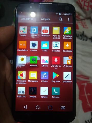 Smartphone lg k10 s/tv novo tela nova