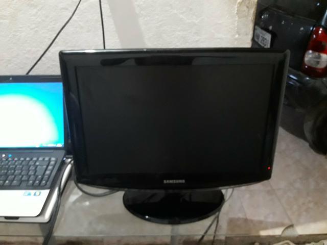 Tv 19 samsung lcd widescreen(precisa de conversor