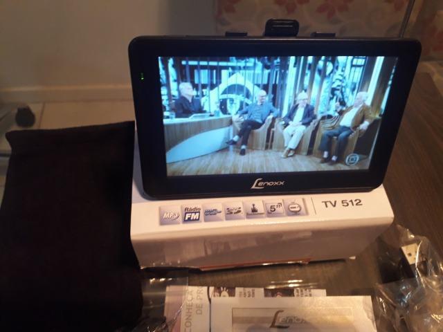 Tv digital portátil!