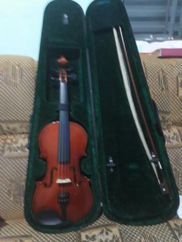 Violino giannini giv 3/4 com case, arco