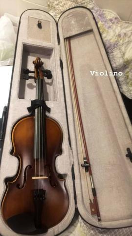 Violino michael vnm40 4/4 - completo