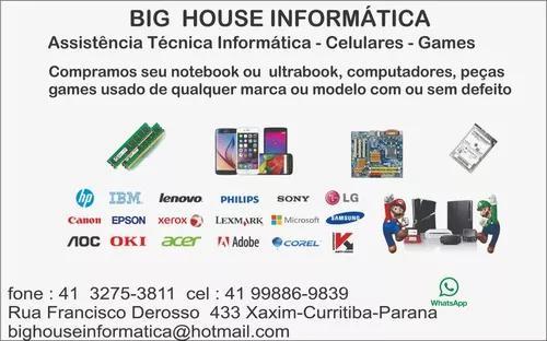 Assistencia tecnica notebook computadores games celulare