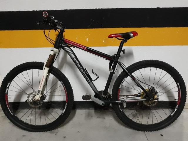 Bicicleta bike aro 29 alumínio 21 marchas freio a disco -