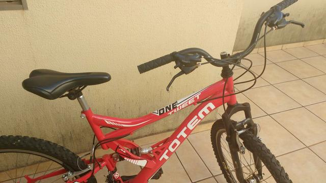 Bicicleta totem ¦ vermelha - aro 26