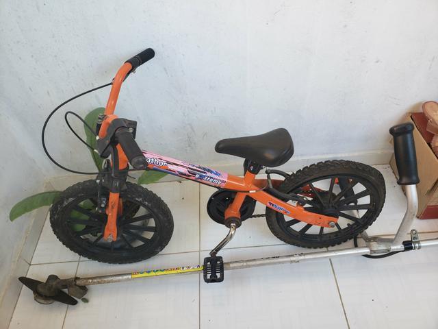 Bicicleta aro 16 em perfeito estado