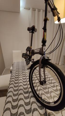 Bicicleta dobrável btwin linda