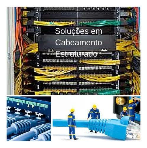 Cabeamento estruturado, rede de dados e telefonia