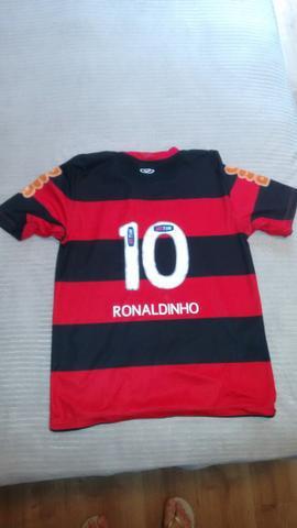 Camisa oficial do flamengo 2010/ infantil 12 anos