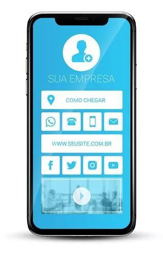 Cartão visita digital para whatsapp e internet
