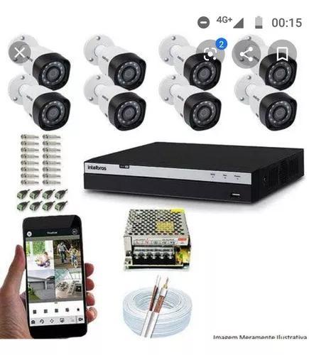 Câmeras/ alarmes/ portões/ interfones