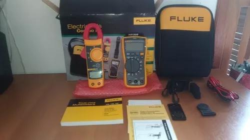 Combo kit fluke multimetro 117/ amperimetro 322 -