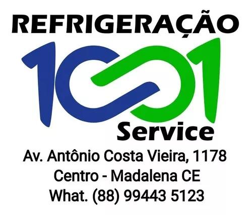 Consertos de: freezers, geladeiras, máquina de lava