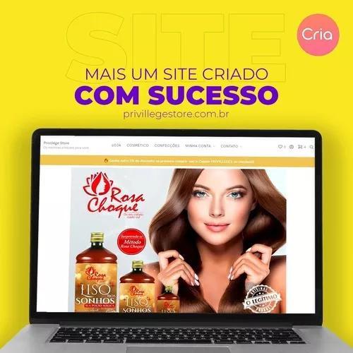 Criacao de site profissional + logo
