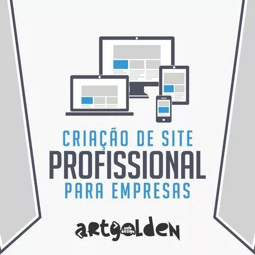 Criação de site profissional e responsivo para