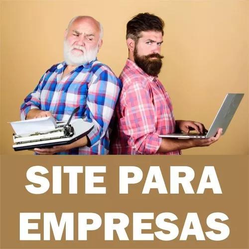 Criação de site profissional, responsivo para