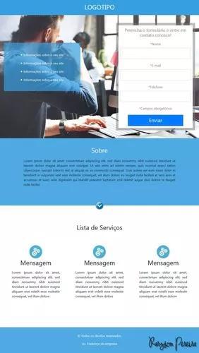 Desenvolvimento web - modelos de sites html5/css3