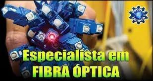 Fusão de fibra óptica