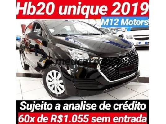 HYUNDAI HB20 UNIQUE 1.0 FLEX 12V MEC. 2019/2019