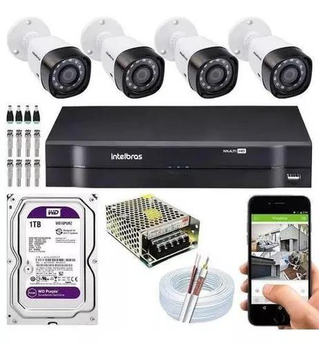 Instalação de câmeras de seguranca