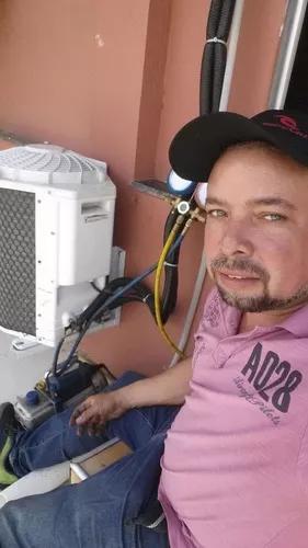 Instalação e consertos de ar condicionado,máquina de
