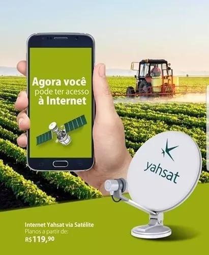 Internet via satelite yahsat