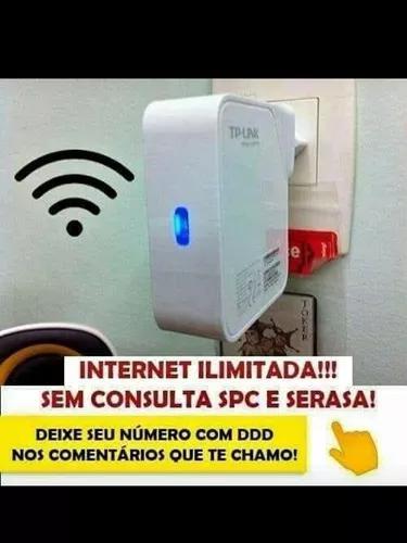 Internet + wifi +telefone fixo ilimitado¿¿¿¿entrego